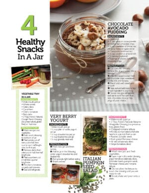 snacks in a jar