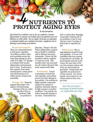 4 Nutrients to Protect Aging Eyes AL0812