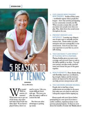5 Reasons to Play Tennis AL0710