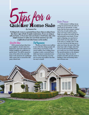 5 Tips For A Quicker Home Sale HGD0216