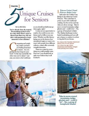 5 Unique Cruises for Seniors AL0716