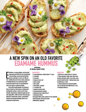 A New Spin On An Old Favorite Edamame Hummus HGD0918