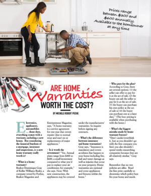Are Home Warranties Worth The Cost HGD0812