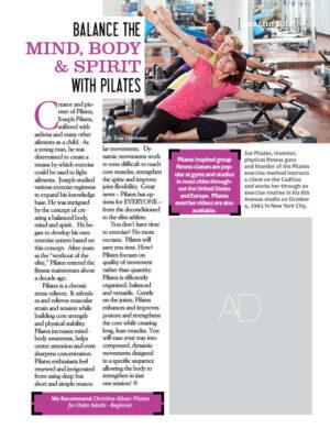 Balance the Mind, Body & Spirit with Pilates AL0615