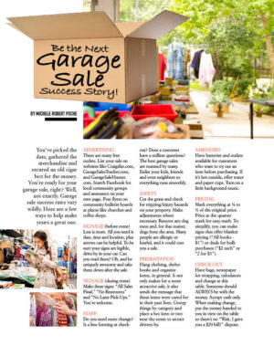 Be The Next Garage Sale Success Story HGD0512
