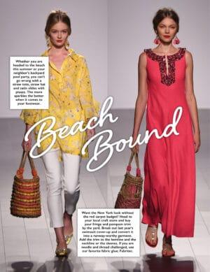 Beach Bound fashion content