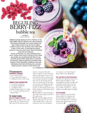 Berry Fizz Bubble Tea