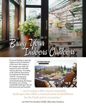Bring Your Indoors Outdoors HGD0516