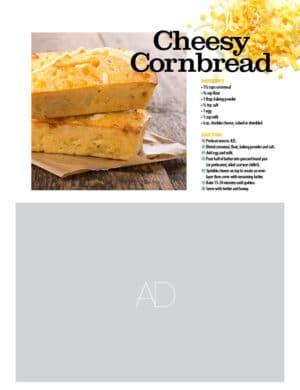 Cheesy Cornbread HGD0725
