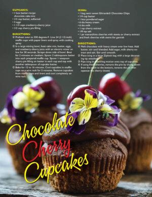 Chocolate Cherry Cupcakes HGD1410