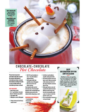 Chocolate-Chocolate Hot Chocolate HGD0818