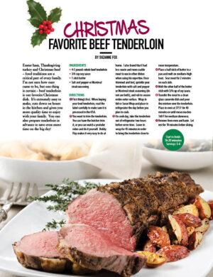 Christmas Favorite Beef Tenderloin HGD0810