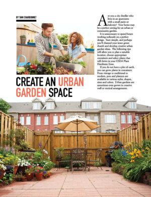 Create An Urban Garden Space HGD0506
