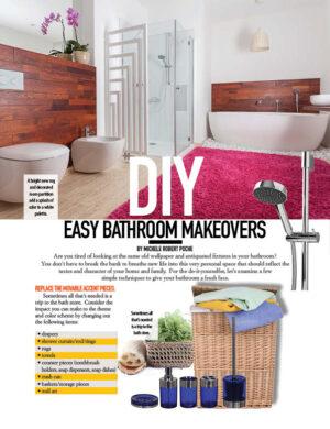 DIY Easy Bathroom Makeovers HGD0316
