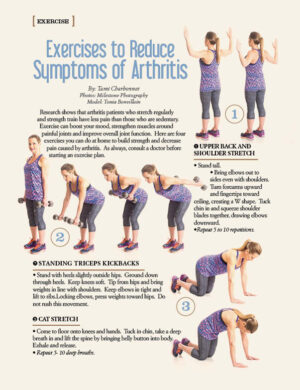 Exercise to Reduce Symptoms of Arthritis