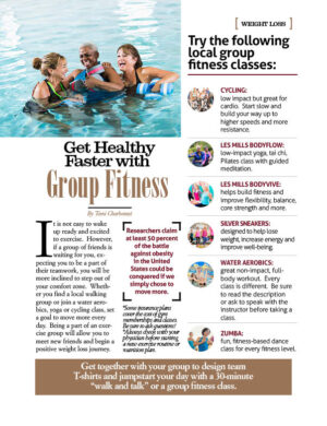 Get Healthy Faster with Group Fitness