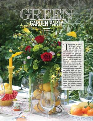 Green Garden Party HGD0916