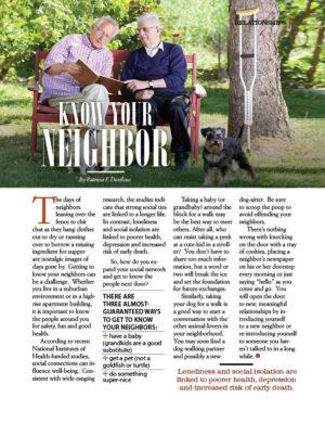 Know Your Neighbor AL0707