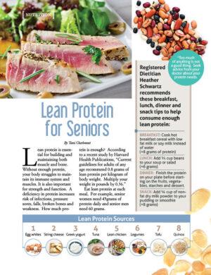 Lean Protein for Seniors AL0412