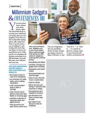 Millennium Gadgets & Conveniences 101 AL1108 Fox content Active Living magazine article