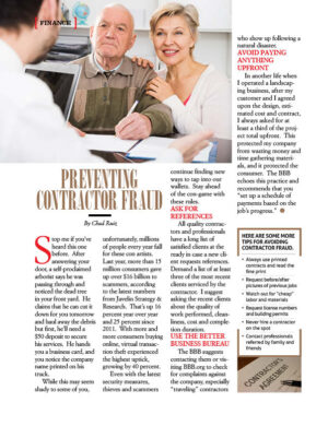 Preventing Contractor Fraud AL1022