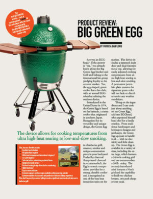 Product Review Big Green Egg HGD0318