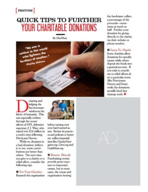Quick Tips To Further Your Charitable Donations AL1008