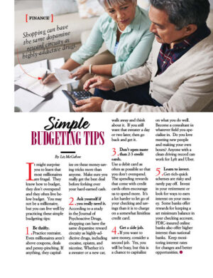 Simple Budgeting Tips AL0922