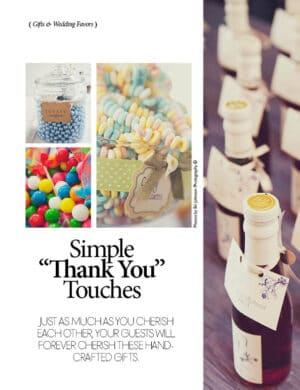 Simple Thank You Touches FB0144
