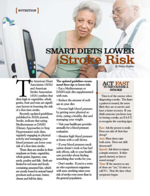 Smart Diets Lower Stroke Risk