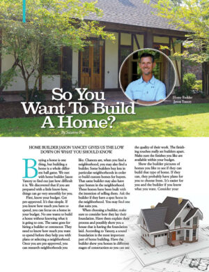 So You Want To Build A Home HGD0230