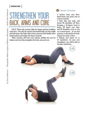 Strengthen Your Back, Arms and Core