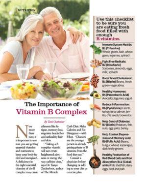 The Importance of Vitamen B Complex