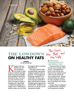 The Lowdown On Healthy Fats AL1010