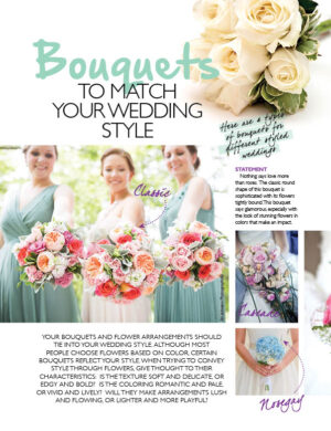 Bouquets To Match Your Wedding Style FB0308