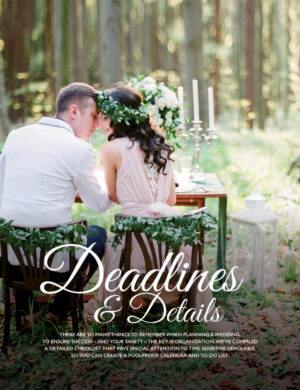Deadlines And Details FB0520