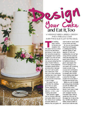 Design Your Cake And Eat It, Too FB0314