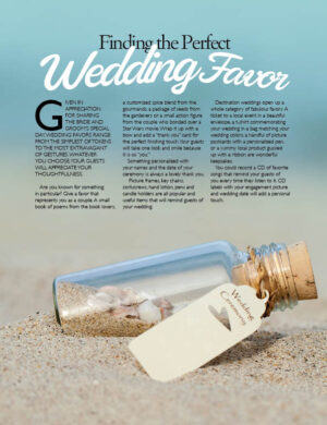 Finding The Perfect Wedding Favor FB0240