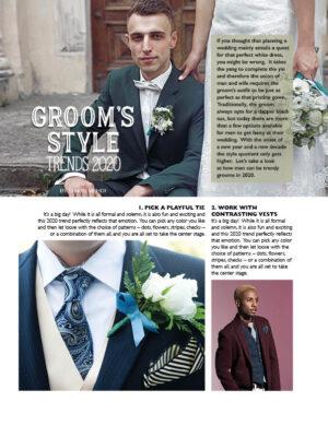 Groom's Style Trends 2020 FB0836