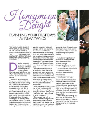 Honeymoon Delight - Planning Your First Days As Newlyweds FB0244