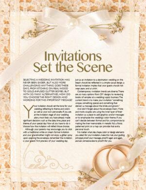 Invitations Set The Scene FB0306