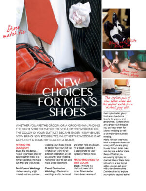 New Choices For Men's Shoes FB0322