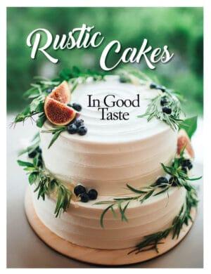 Rustic Cakes In Good Taste FB0720