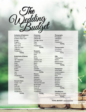 The Wedding Budget FB0636 Fox content Forever Bridal article