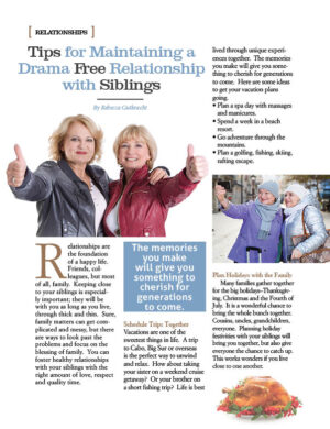 Tips For Maintaining A Drama Free Relationship With Siblings AL1324
