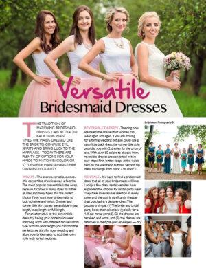 Versatile Bridesmaid Dresses FB0320