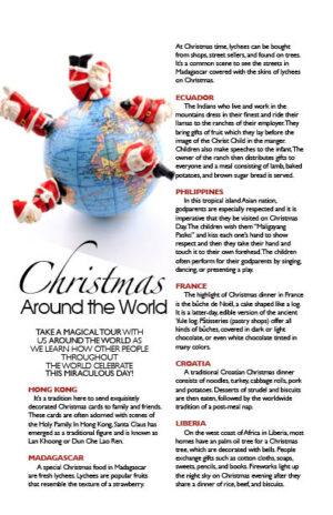 Christmas Around the World MM1316